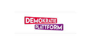 Logo DEMOKRATIE-PLATTFORM