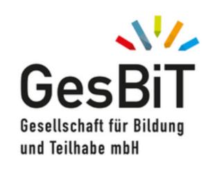 Logo der Gesellschaft für Bildung und Teilhabe mbH (GesBit)
