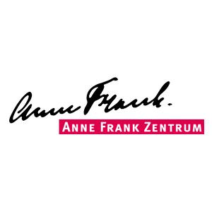 Schriftgrafik: Anne Frank. Anne Frank Zentrum
