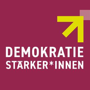 Logo: Demokratiestärker*innen